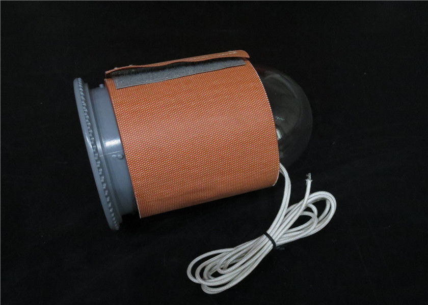 12v Silicone Rubber Heaters With J Type Thermocouple Water / Acid / Alkali Resistance